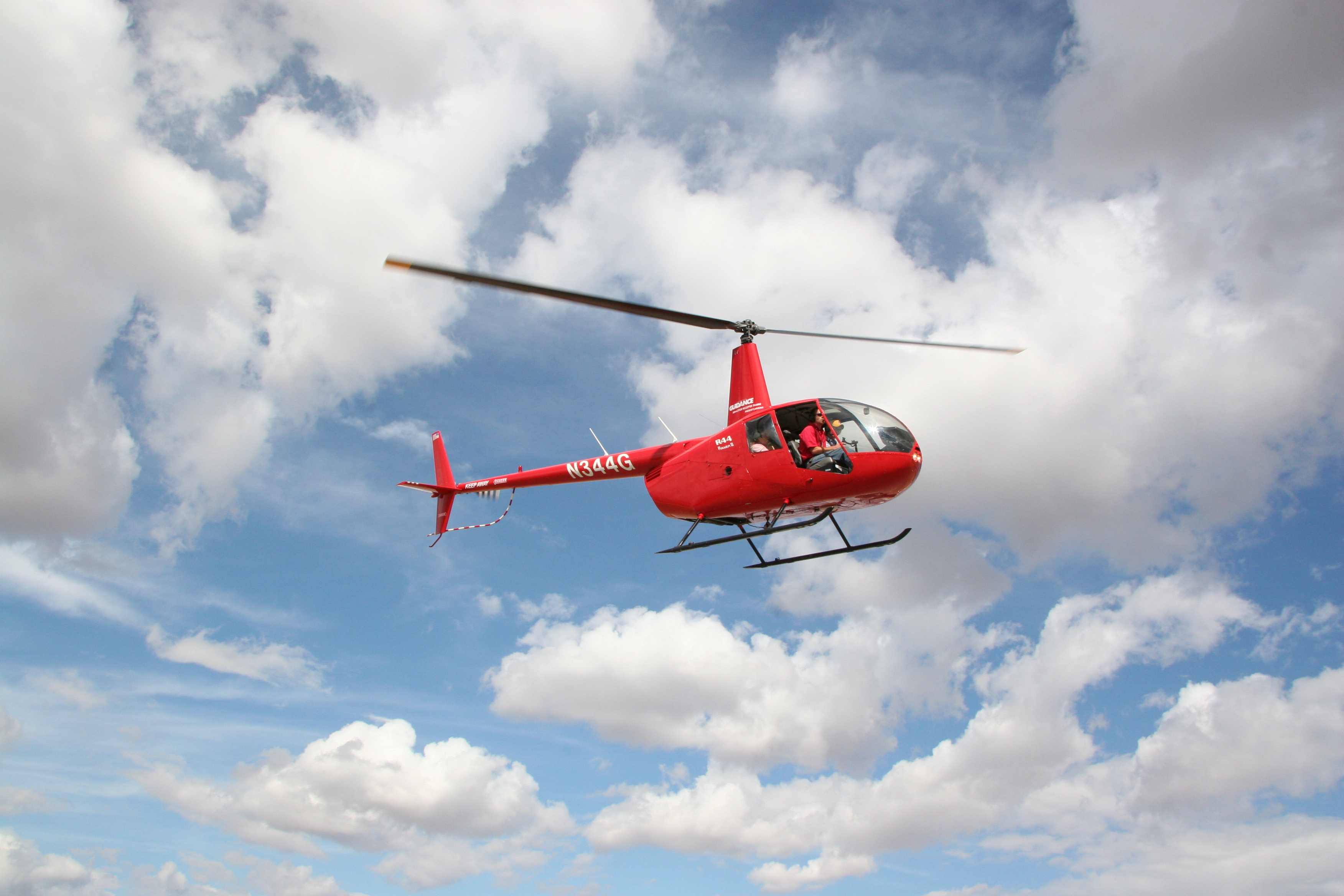 Robinson R44 helicopter Guidance Aviation