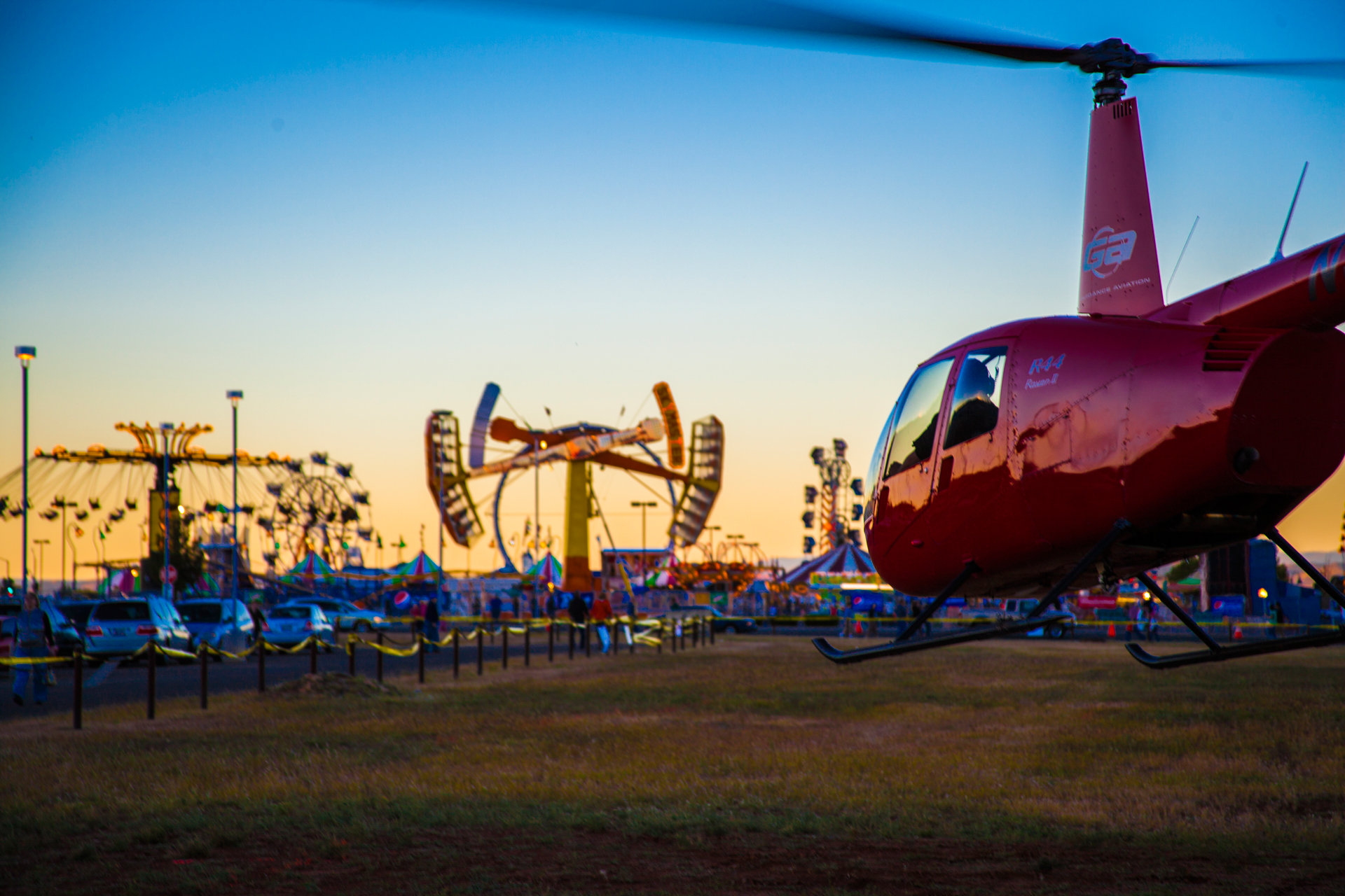 roller coasters helicopters yavapai fair